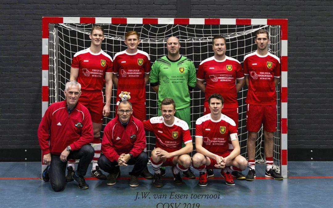 DSVenO opnieuw oostelijk kampioen zaalvoetbal in 2019